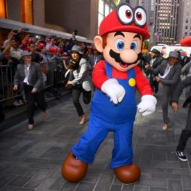 10 Best Ideas of the Week: a 'Super Mario' Flash Mob, Bumble's Branded Networking Lounge, a Rainbow Smirnoff Vodka Ice Bar