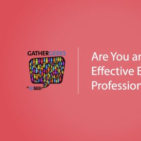 Podcast: Are You an Effective Event Professional? (Episode 85)