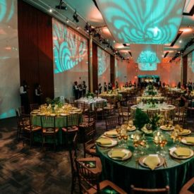 How This Gala Livened Up Its Floor Plan