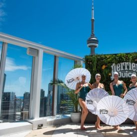 10 Best Ideas of the Week: Perrier's Synchronized Swimmers, a 'Sharp Objects' Photo Booth, CBSi's Old-School Arcade Games