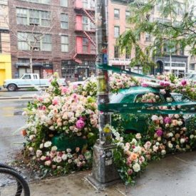 Trend Spotted: Floral Installations In Cars