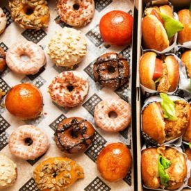 Bring a whimsical approach to your next off site event… fried chicken and doughnuts from Astro
